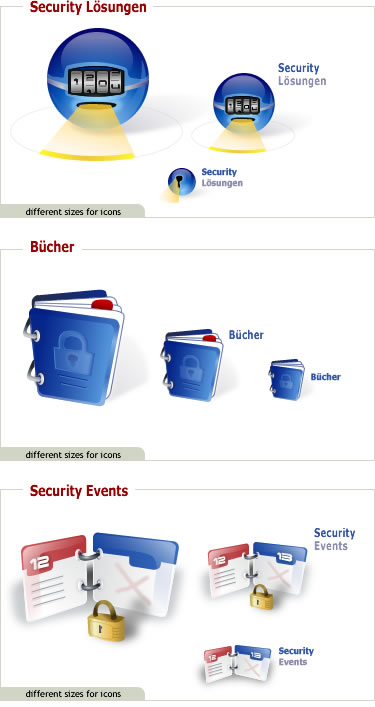 -  Dieses Design wurde ebenfalls für das IT-Security Portal erstellt.