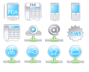 - Icon-Design zum Thema User Interface
