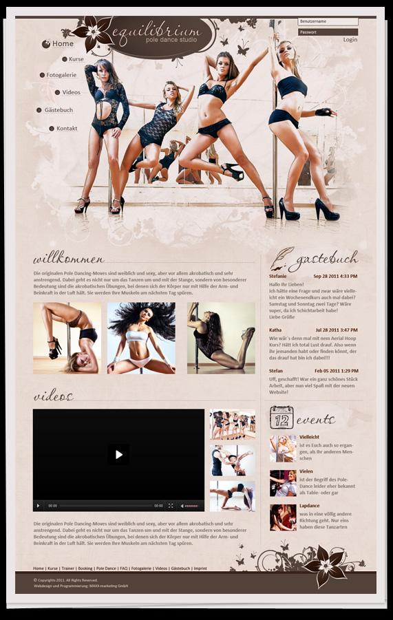- Pole dance