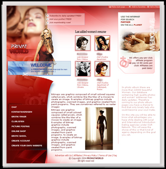 - Webdesign Startseite